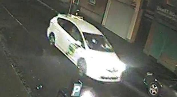 'Brutal attack': The taxi whose driver was allegedly involved in the Dublin 4 rape.