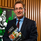DCU's Professor Niall Moyna at yesterday's launch of learning portal LCPE.ie, which supports the introduction of Physical Education in the Leaving Cert. Photo: Sportsfile