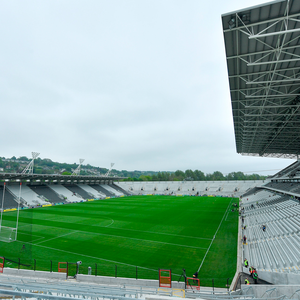 A general view of the redeveloped Páirc Uí Chaoimh before Cork's Munster SHC clash with Clare last May. Photo: Sportsfile