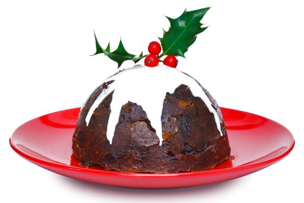 'Just over one in five people aged between 18 and 35 eats Christmas pudding nowadays, according to Tesco's 2018 Christmas report' (stock photo)