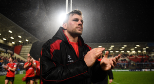 13 October 2018; Jordi Murphy of Ulster following the Heineken Champions Cup Pool 4 Round 1 match between Ulster and Leicester Tigers at Kingspan Stadium, Belfast. Photo by David Fitzgerald/Sportsfile