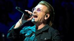 Back in 2009, U2 made €272m during the first year of their '360' tour, which went on to become the highest grossing tour of all time with €644m in sales. Photo: Getty Images