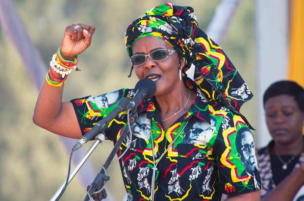 Former Zimbabwean first lady Grace Mugabe. Photo: AP Photo/Tsvangirayi Mukwazhi