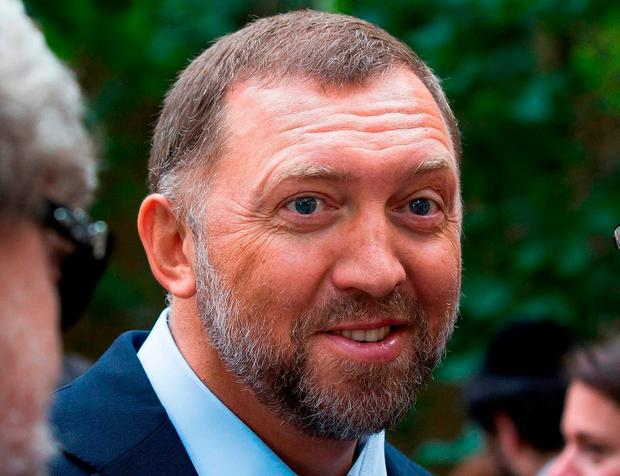 On designated list: Russian oligarch Oleg Deripaska. AP photo