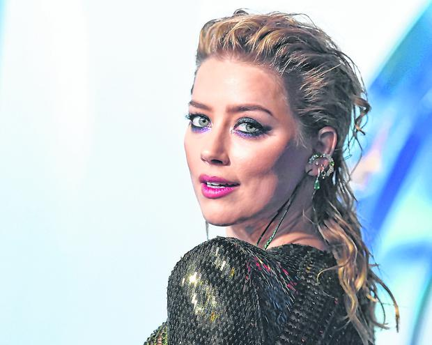 Star power: Hollywood actress Amber Heard has been a leading voice in the campaign to end sexual violence and abuse against women. Photo: AP
