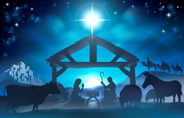 'The shepherds were all present and correct, none of the sheep strayed off course, the three kings were suitably regal, and the galaxy of stars – a phalanx of adorable four and five-year-olds with tinsel on their heads – smiled broadly and shone brightly in the sky' (stock picture)