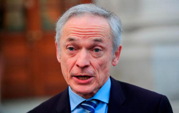 Climate Action Minister Richard Bruton says the plan 'will step up its ambitions'. Photo: Gareth Chaney, Collins