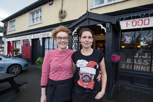 Derval Dunne and Breeda Kavanagh of Culletons, Kilrane, Rosslare. Photo: Colin O'Riordan