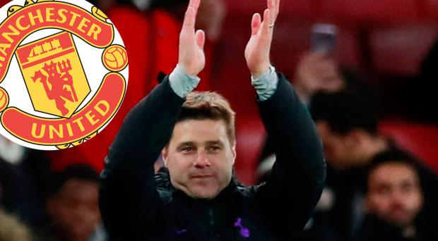 Mauricio Pochettino applauds the fans after Tottenham's victory over Arsenal last night. Photo: Reuters/Andrew Couldridge