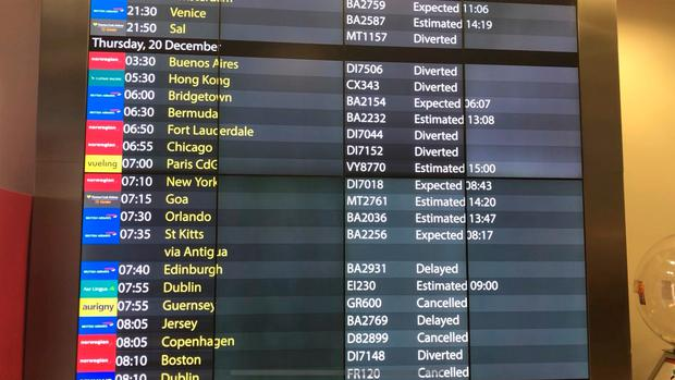 Gatwick Airport Suspends Flights After Drones Reportedly Spotted Over Airfield