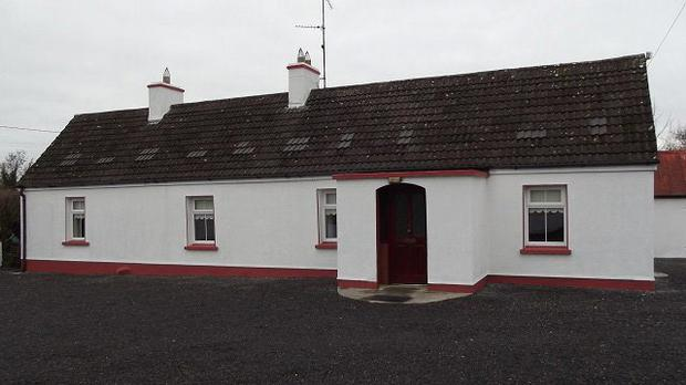 This two-bedroomed house in Cavan is guided at €180,000