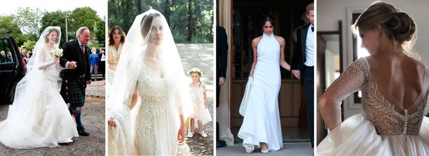 9b4f0cf897f THEVOW.ie editor Karen Birney picks her favourite bridal fashion moments  from the past year (and some she s still not sure about)