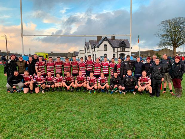 Creggs RFC after their Cawley Cup victory