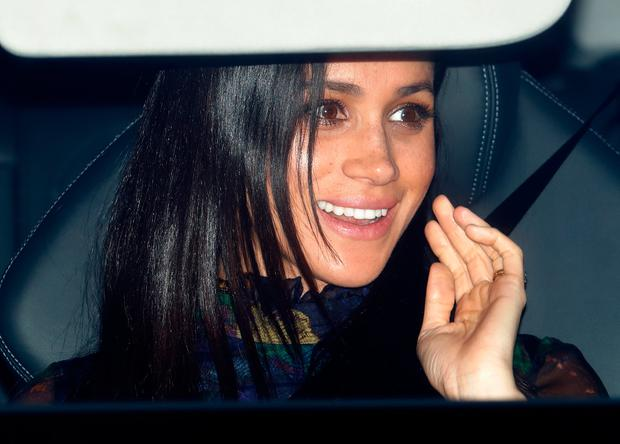 Meghan, Duchess of Sussex attends a Christmas lunch for members of the Royal Family hosted by Queen Elizabeth II at Buckingham Palace on December 19, 2018 in London, England. (Photo by Max Mumby/Indigo/Getty Images)