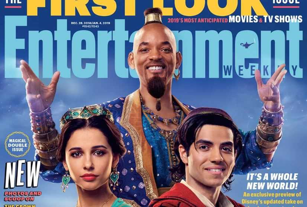 Entertainment Weekly's Aladdin cover