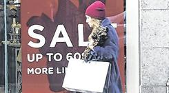 Discounts: Retailers have cut prices ahead of Christmas. Photo: Damien Eagers / INM