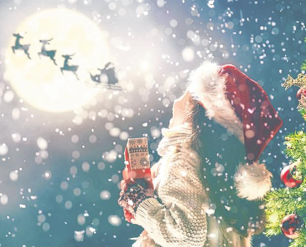 Magic: It's the time of year where dreams come true for little ones who believe