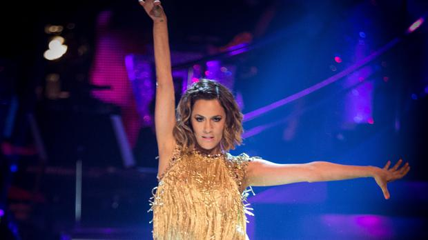 Caroline Flack appeared on the BBC One show in 2014 (Guy Levy/PA/BBC)