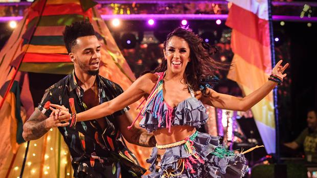 Aston Merrygold will be reunited with Janette Manrara (Kieron McCarron/BBC)