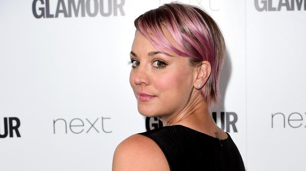Kaley Cuoco and Karl Cook are on honeymoon in Switzerland (Ian West/PA Wire)