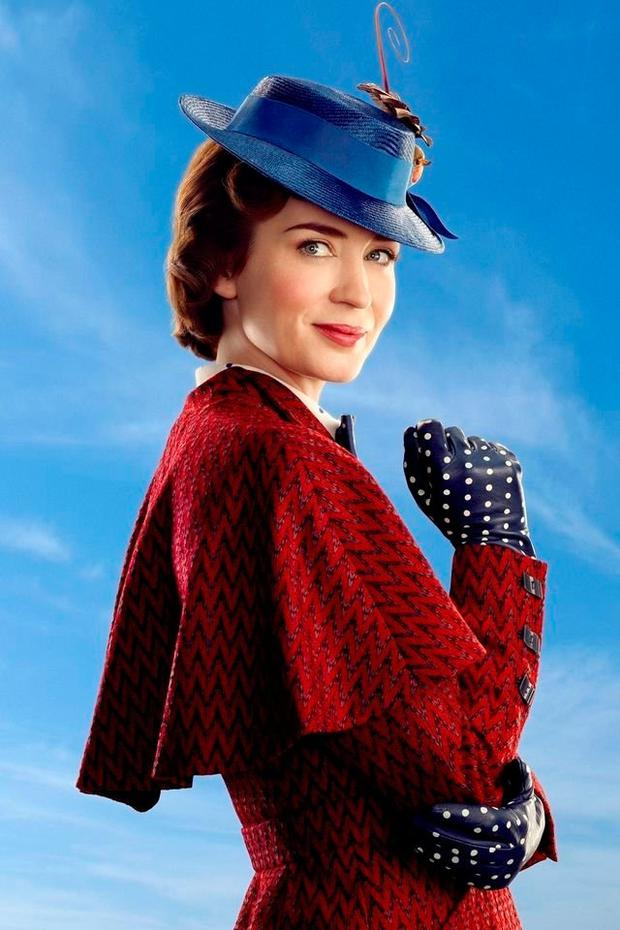 Emily Blunt stars in 'Mary Poppins Returns'