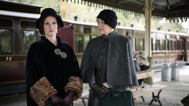 Ruth Bradley stars as Agatha Christie in a new TV drama (Channel 5/PA)