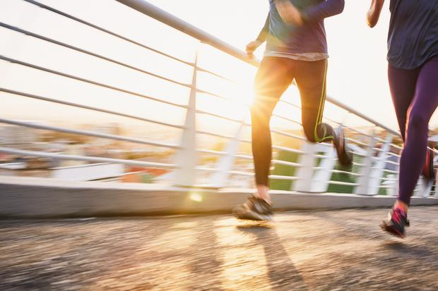 The nation's preferred types of sport and exercise are those undertaken in their own time and on their own terms. Stock image