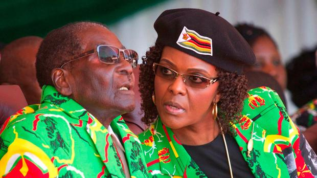 NO CHANGE IN ZIMBABWE THEN: Robert and Grace Mugabe