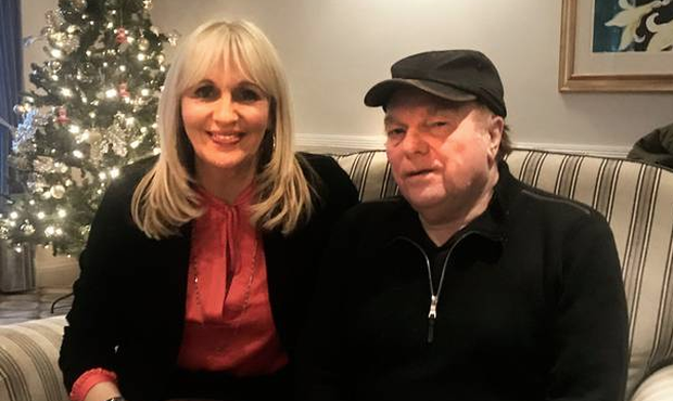 Miriam O'Callaghan and Van Morrison