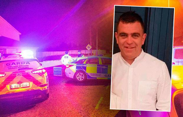 Eric Fowler (inset) was gunned down outside his home at Blakestown Cottages, Clonsilla.