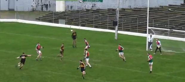 Kieran O'Leary unleashes an unstoppable shot