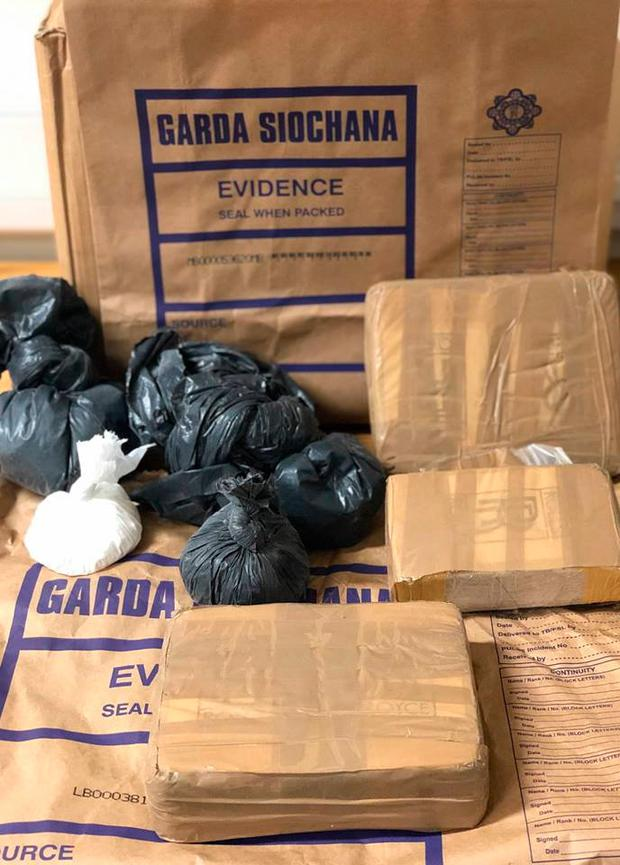 Heroin and cocaine worth more than €500,000 were seized by gardai
