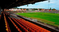 The GAA waits on planning permission for Casement Park. Photo: SPORTSFILE