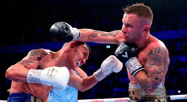 Josh Warrington eyes Stateside fight after retaining crown