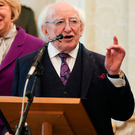President Michael D Higgins. Photo: MAXWELLPHOTOGRAPHY.IE