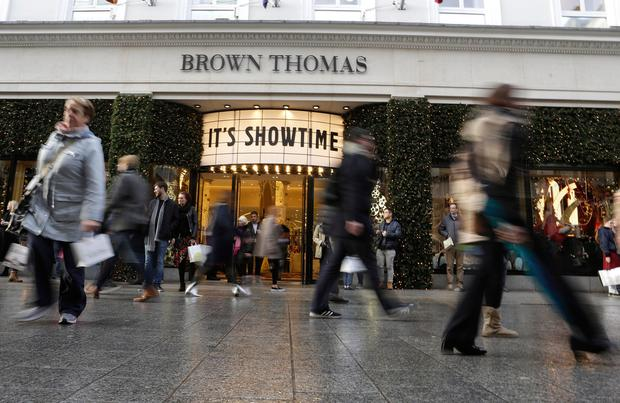 The sales in Brown Thomas stores in Dublin, Cork, Galway and Limerick start at 9am on December 26. Photo: Damien Eagers