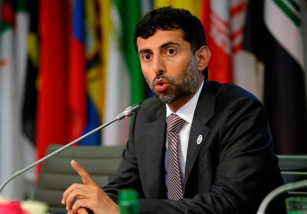 UAE Energy Minister Suhail al-Mazrouei. Photo: REUTERS/Heinz-Peter Bader