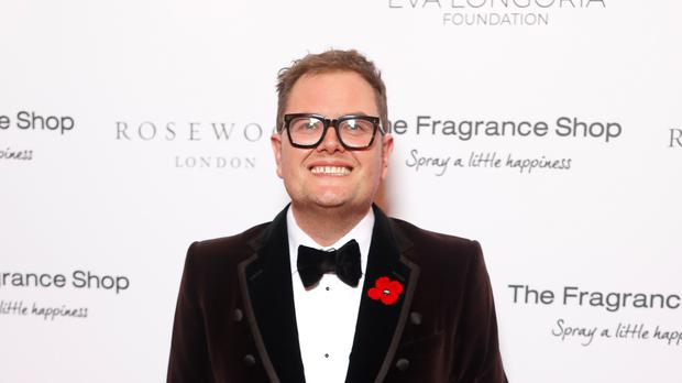 Alan Carr married his partner of 10 years in January (David Parry/PA)