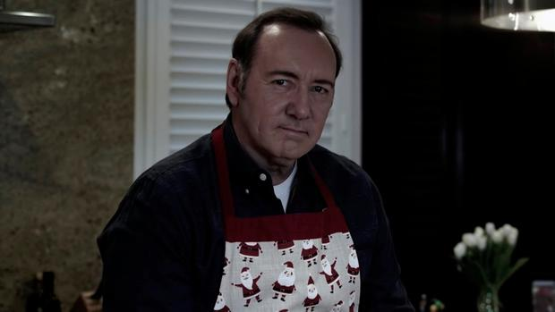 Actor Kevin Spacey is seen in this still image taken from a YouTube video released on Christmas Eve. Photo: Kevin Spacey/YouTube/via REUTERS