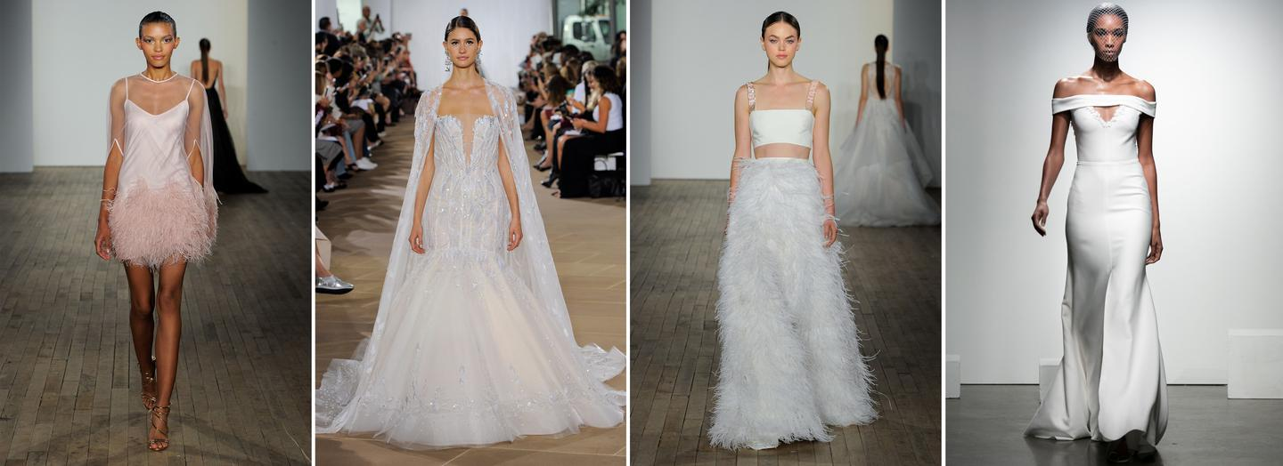 The Top Wedding Dress Trends For 2019: The Fall/Winter