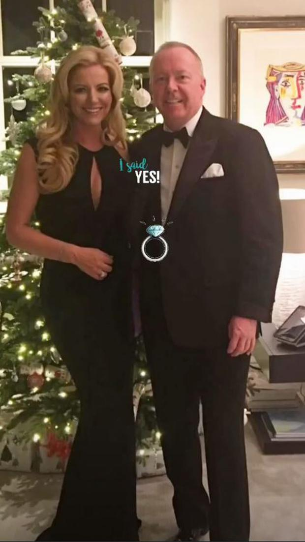 Ultimo founder Michelle Mone has announced that she is engaged to billionaire Doug Barrowman | Photo via Instagram