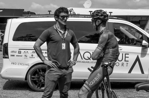 Stephen Barrett spent the last two years working with Irish cycling team Aqua Blue, the Waterford hurling team and lecturing at WIT