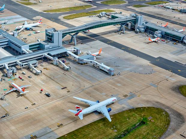 US investment fund Global Infrastructure Partners is selling a 50.01% stake in Gatwick Airport to France's Vinci Airports for £2.9 billion. Photo:: Gatwick Airport/PA