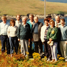 Costly: Then-French president Francois Mitterand with Charles, Maureen and other members of the Haughey family on Inishvickillane. Photo: The Blasket Centre