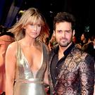 Spencer Matthews and his wife Vogue Williams. (Ian West/PA)