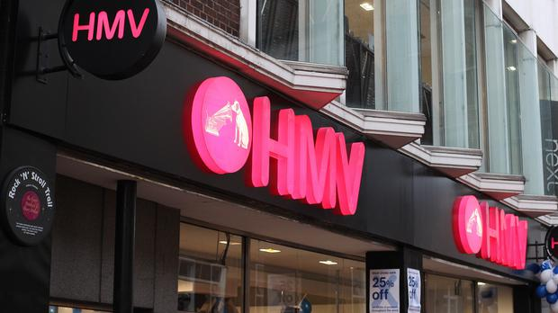 HMV is on the brink of collapse (PA)