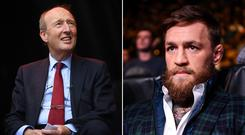 Shane Ross and Conor McGregor