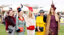 Paula Gannon (r) pictured with the other finalists at the Savills Style Awards