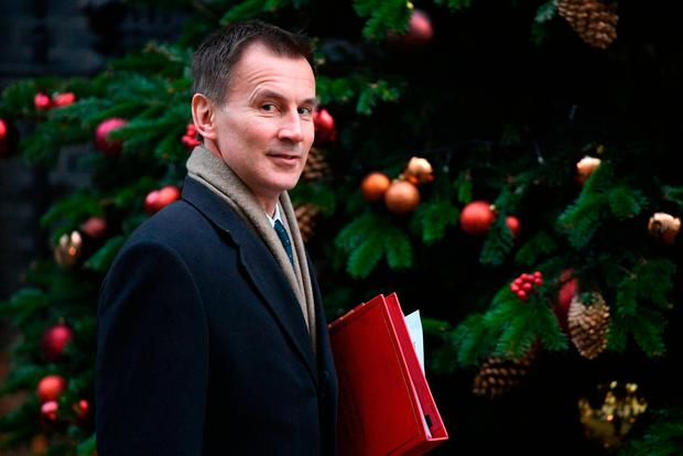 Jeremy Hunt wants more reassurance on the backstop. Photo credit: Stefan Rousseau/PA Wire