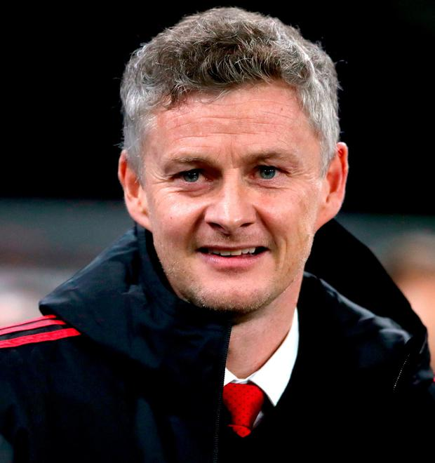 Manchester United Interim Manager Ole Gunnar Solskjaer. Photo: Nick Potts/PA Wire
